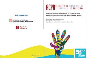 Celebració del 50è aniversari de l'ACPB