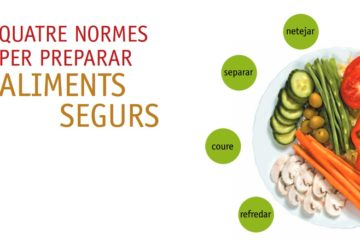 Protegeix-te de les toxiinfeccions alimentàries!